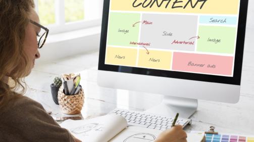 Content,Website,Web,Design,Concept
